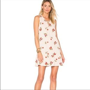 NWT Lovers & Friends floral embroidered mini dress